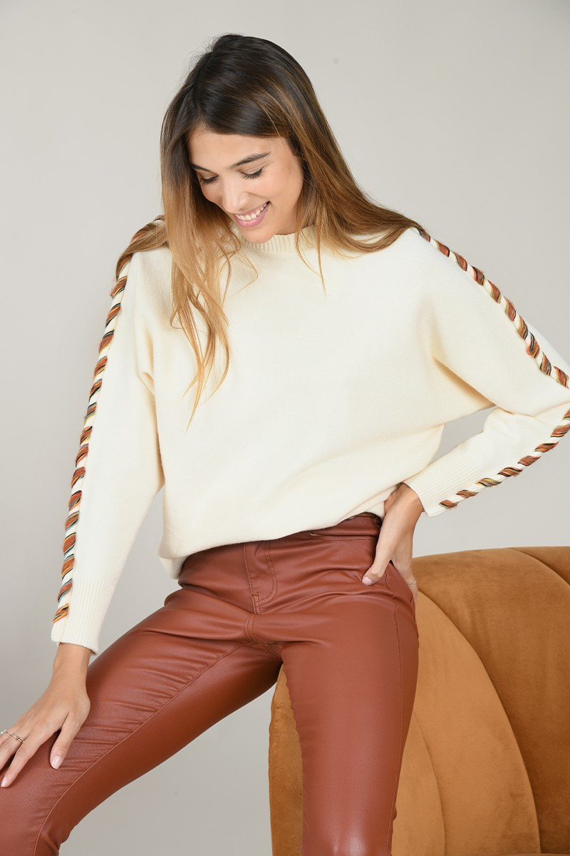 Dolman sleeves jumper