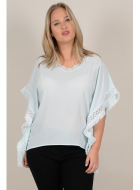 Top with lace row