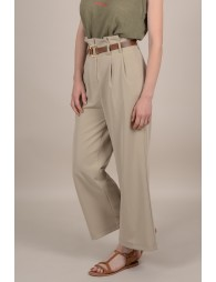 Pantalon large safari