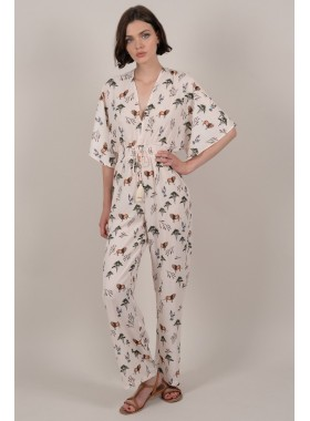 Savannah print jumpsuit