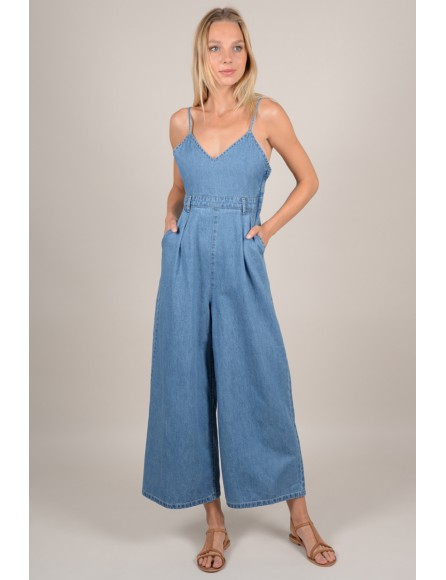 7854bec775c Jumpsuit in jeans - Molly Bracken E-Shop - Collection Printemps Été 2018