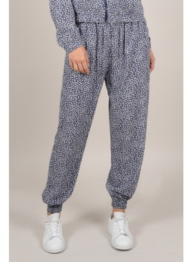 Printed urban trousers
