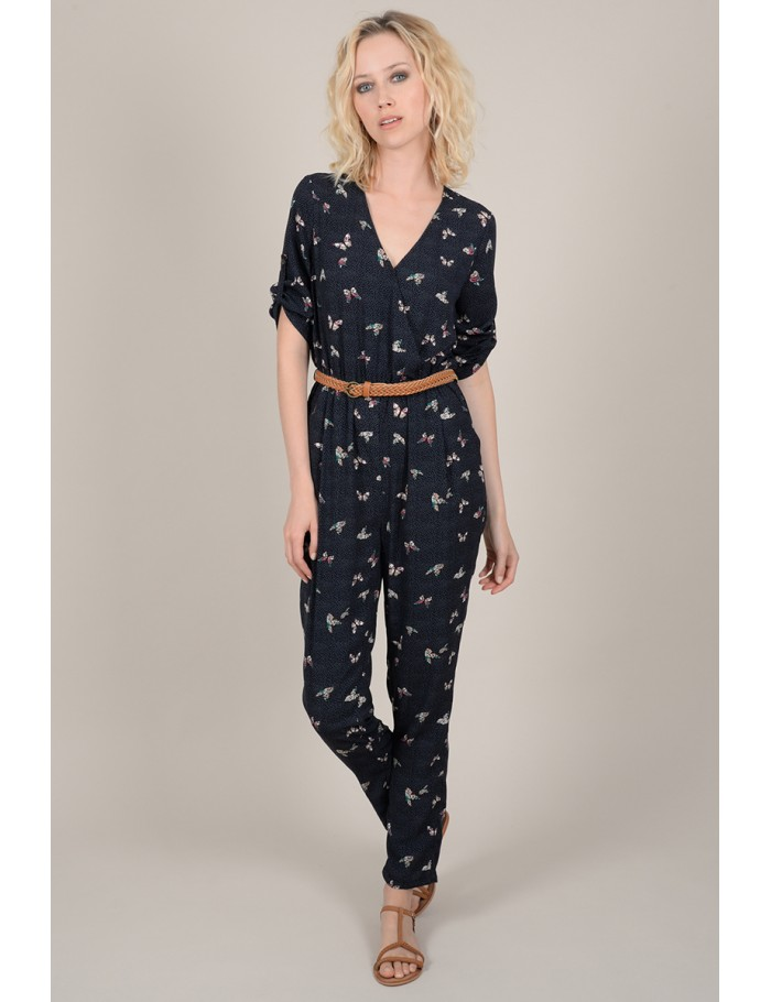 61759a46b1a0 Printed fitted jumpsuit - Molly Bracken E-Shop - Collection ...
