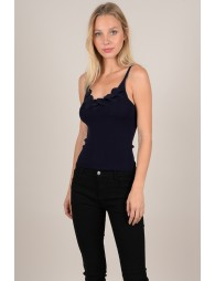 Camisole with thin straps
