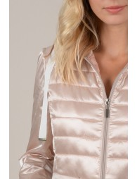 Lightweight down jacket shiny