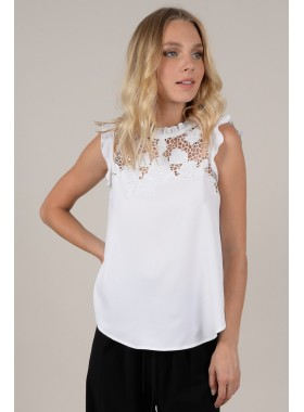 Fancy lace top