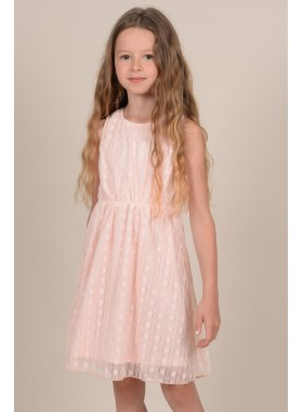 Backless child dress