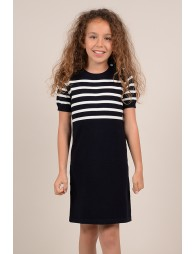 Mariniere knitted dress