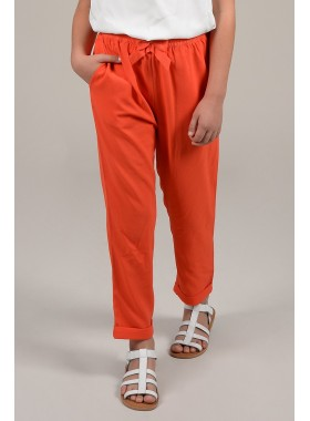 Cuffed ankles pants