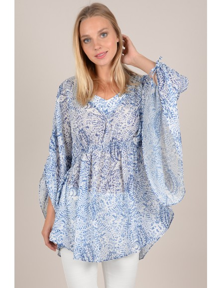 Printed sail tunic