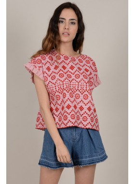 Graphic print top