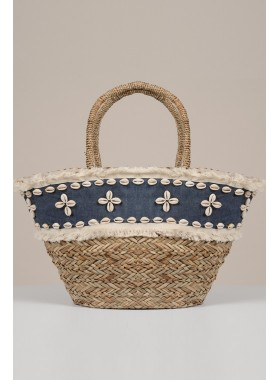 Tote with shell
