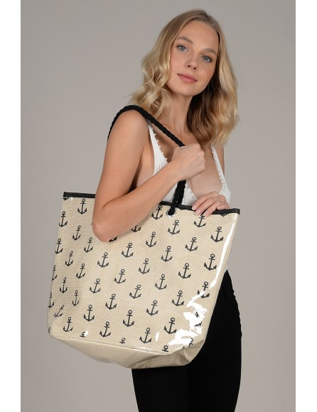 Large printed bag