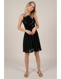 8f496dd91c152 Robe patineuse voile et sequin - Molly Bracken E-Shop - Collection ...