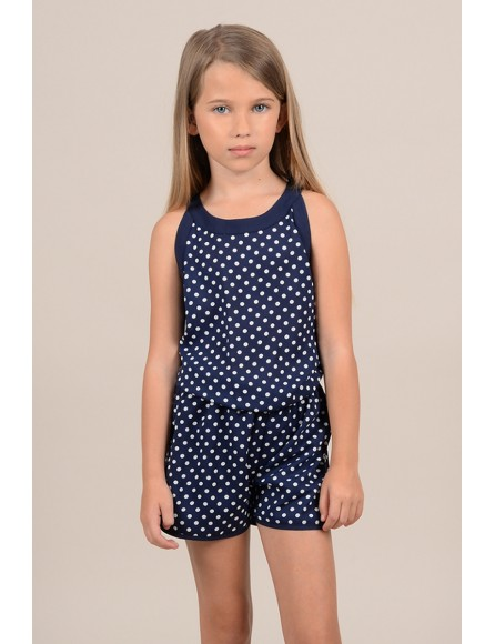 Dotted playsuit