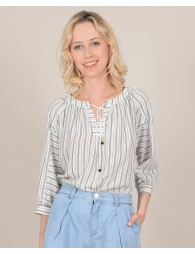 Top with fine stripes