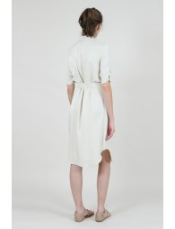 Robe double boutonnage