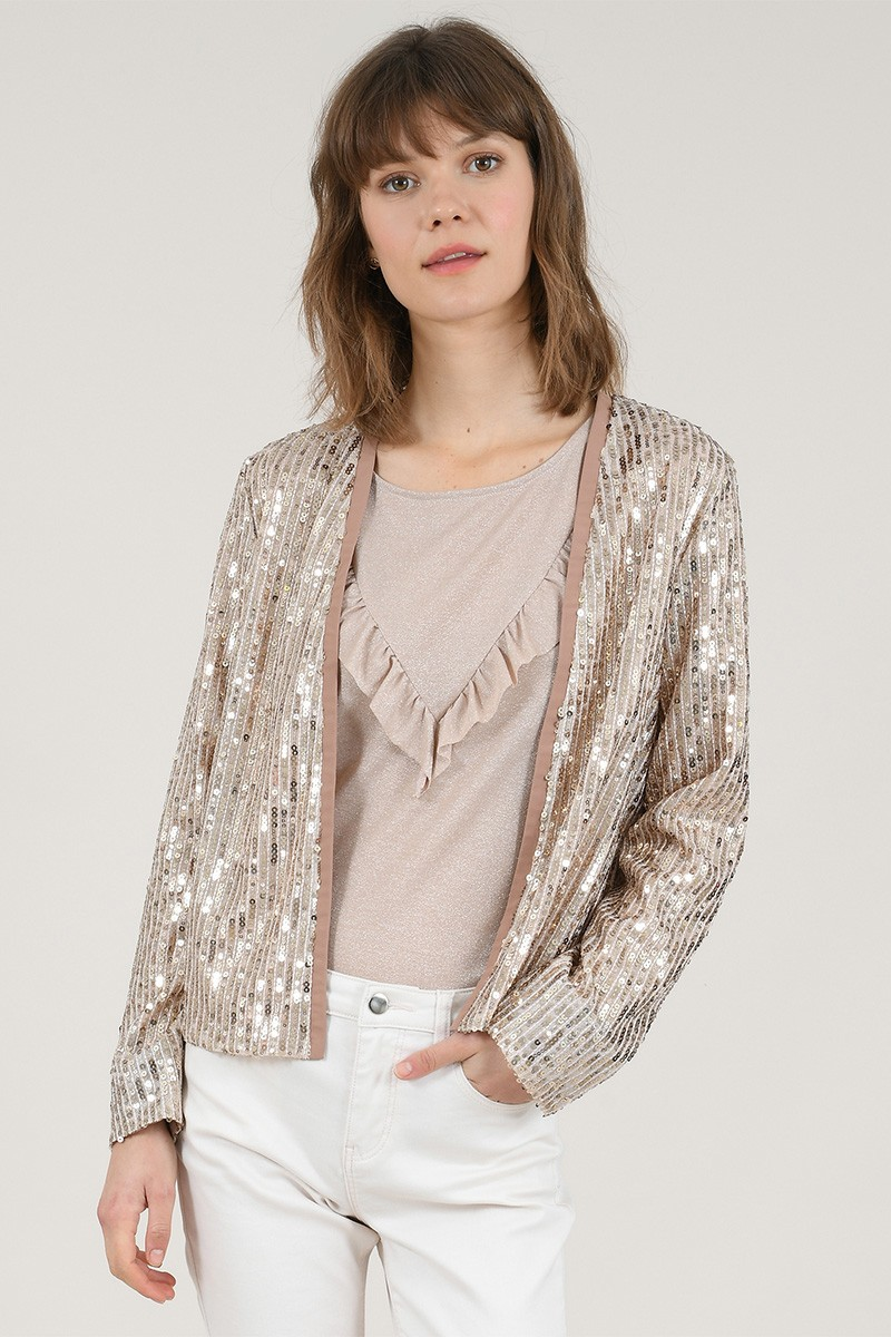 Sequined blazer
