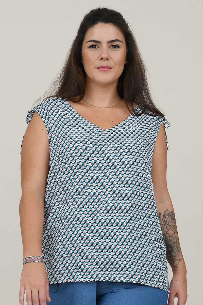 Graphic Printed top