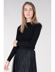 Pull moulant, manches longues