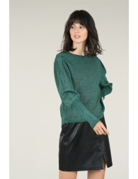Pull maille irisée