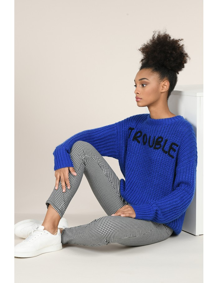 Pull grosse maille