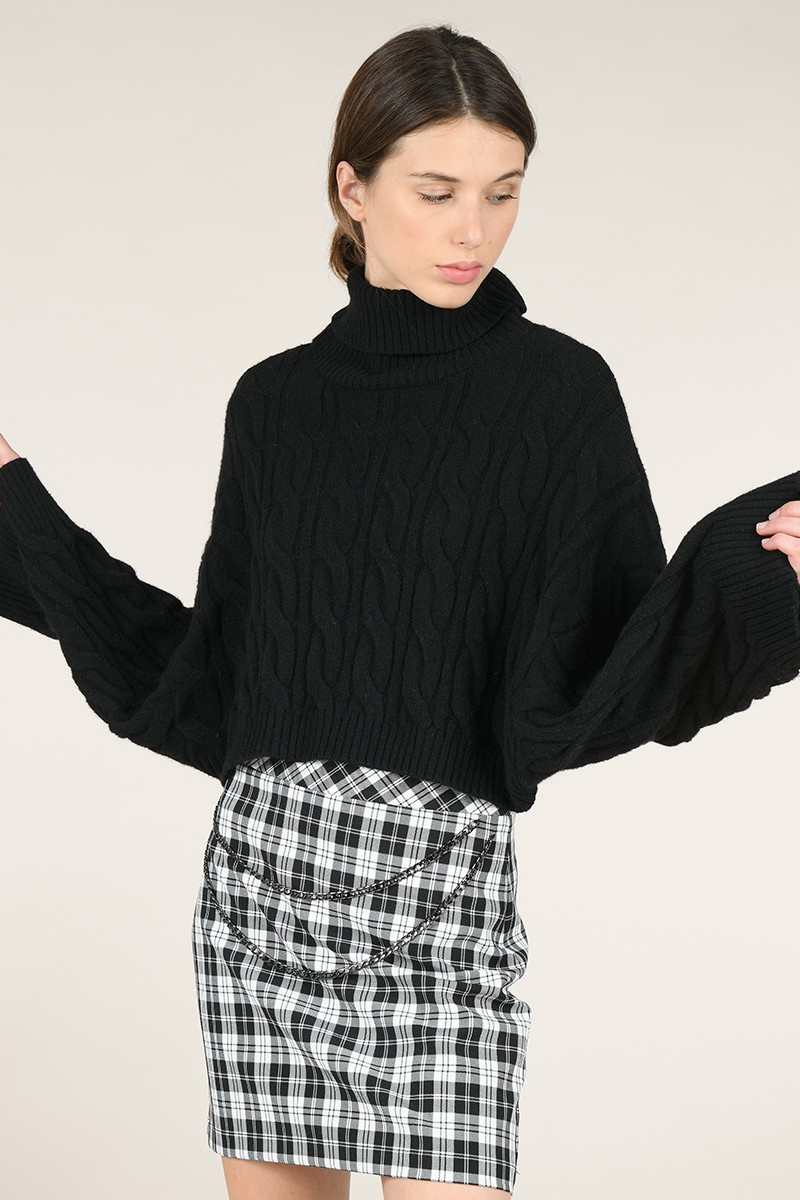 Chunky Cable-Knit jumper