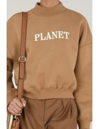 Sweater col montant