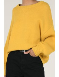 Maxi knitted jumper