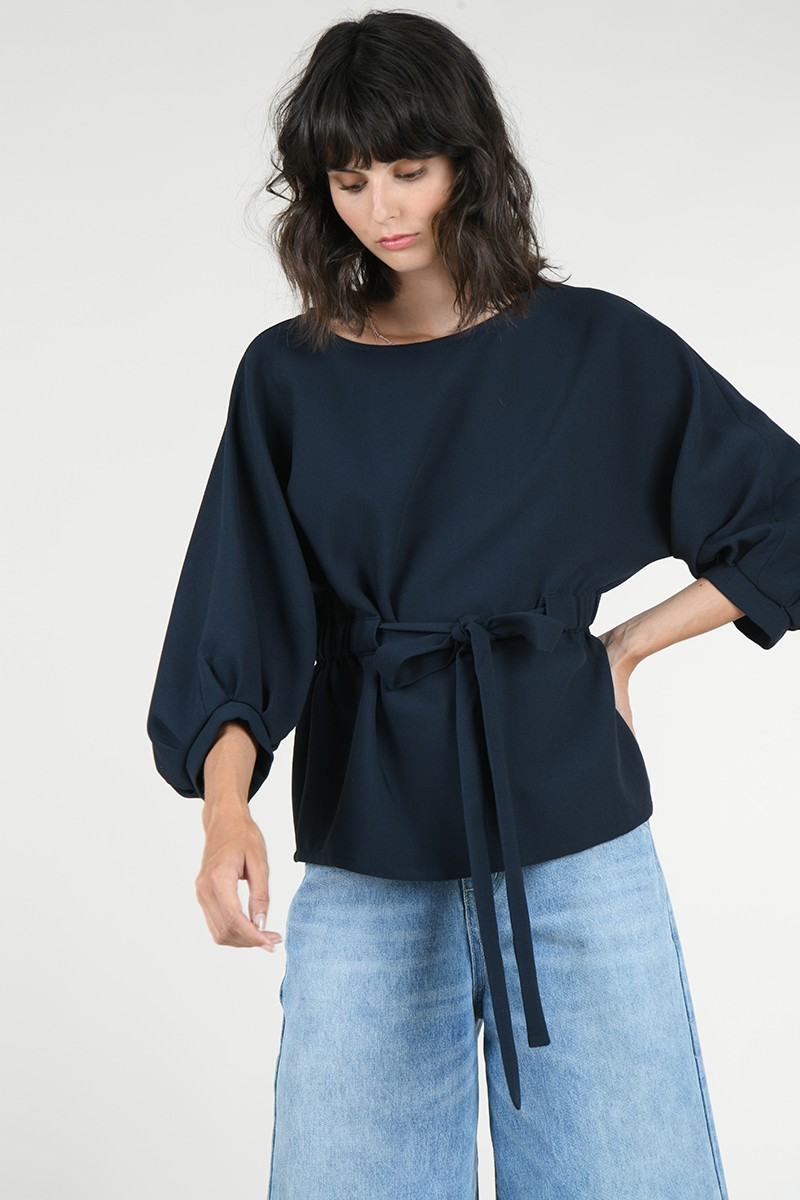 Dolman sleeves blouse