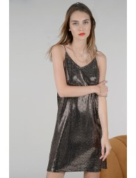 Small mirror sequined dress