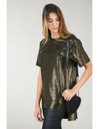 Top with lamé