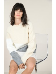 Color-bloc sweater