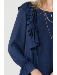 Top with frill