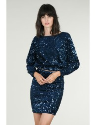 Top court en sequin