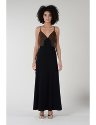 Long dress with thin straps