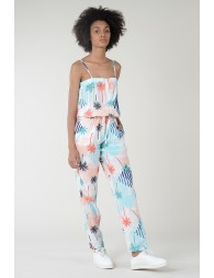 Relaxed print jumpsuit