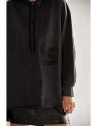 Flare hooded sweater
