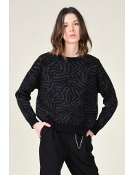 Casual graphic jumper