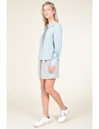 Blouse col claudine