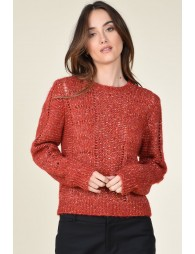 Pull Maille ajourée