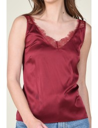 Front and back v-neck camisole